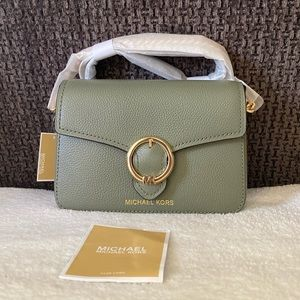 NWT Michael Kors Wanda Small Leather Crossbody